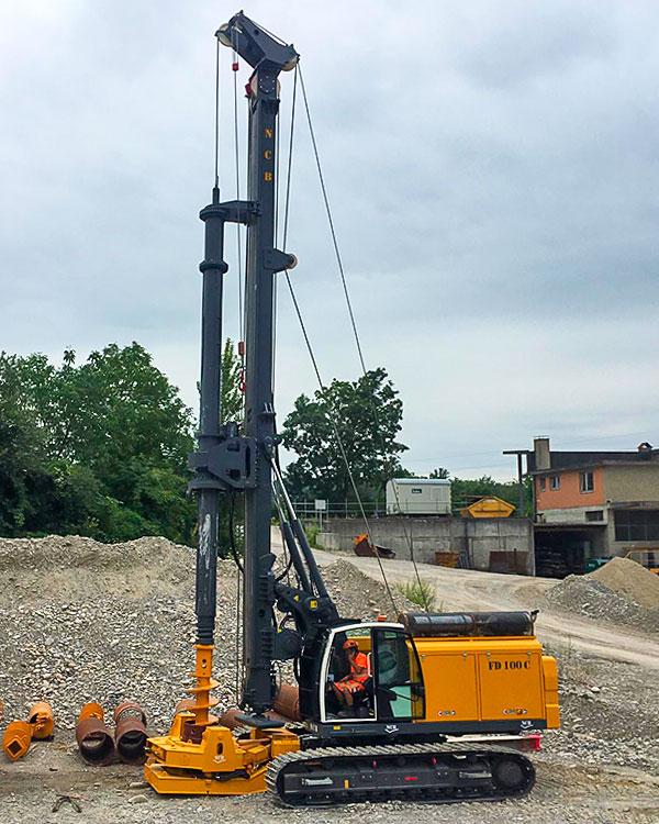 Piles drilling machines